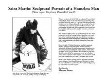 Saint Martin (Sculptural Portrait of a Homeless Man)