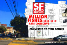 Closed Studios/Reverse the Whiteout of SF Culture & Diversity
